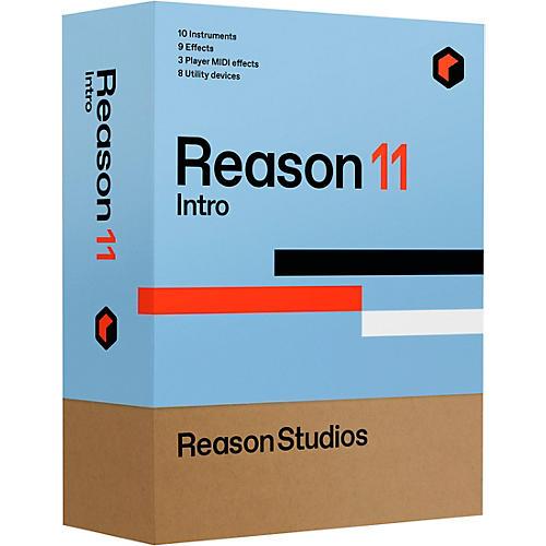 Reason Studios Reason 11 Intro (Download)