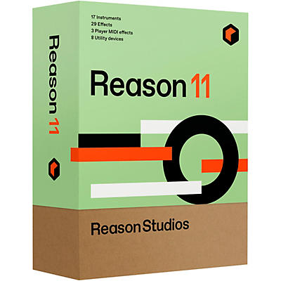 Reason Studios Reason 11 Student/Teacher (Boxed)