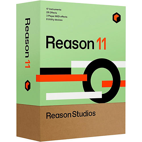 Reason Studios Reason 11 Student/Teacher (Download)