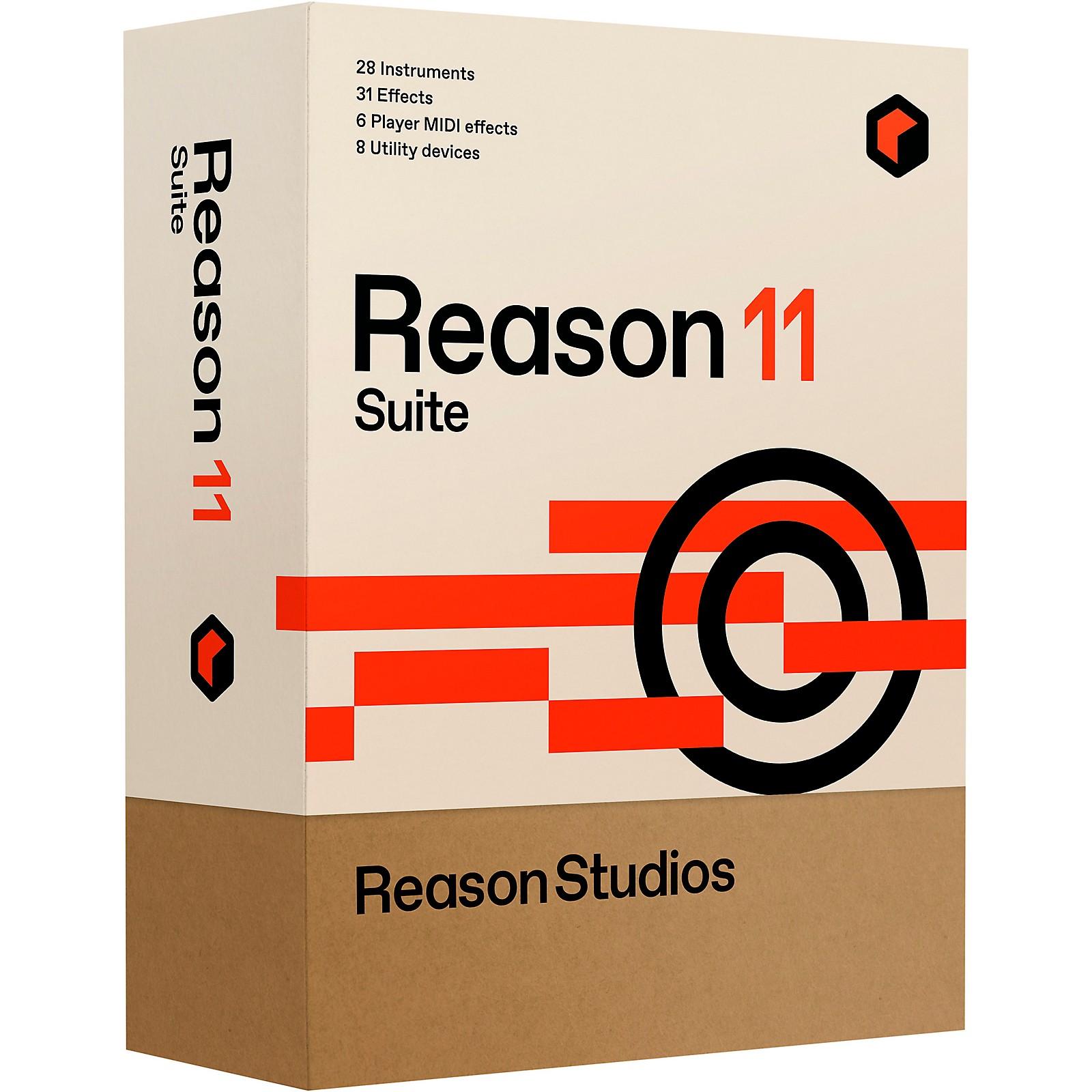 Reason Studios Reason 11 Suite (Boxed)