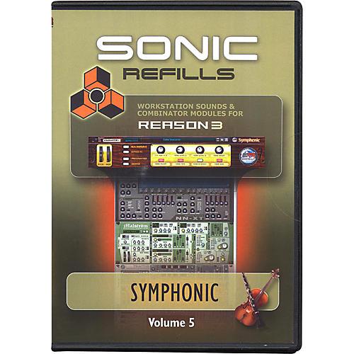 Sonic Reality Reason 3 Refills Vol. 05: Symphonic