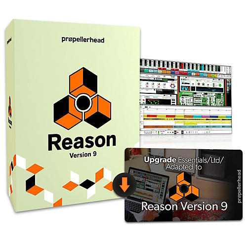 Propellerhead Reason 9.5 Upgrade From Essentials/Ltd/Adapted Software Download