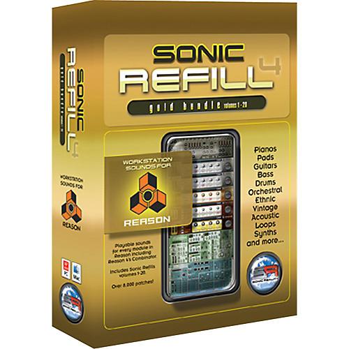 Sonic Reality Reason Sonic Refills - Gold Bundle