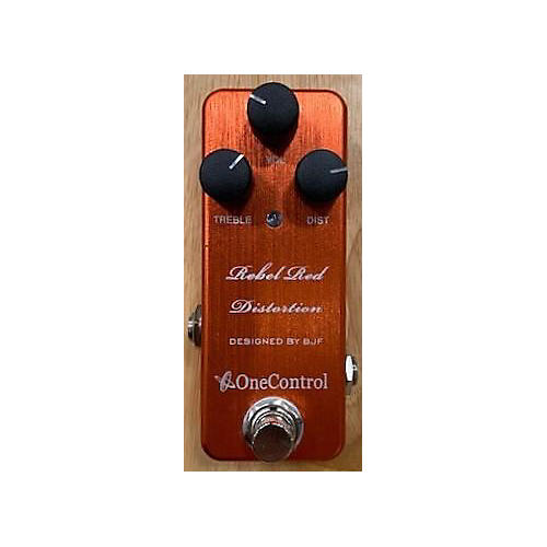 One Control Rebel Red Distortion Effect Pedal