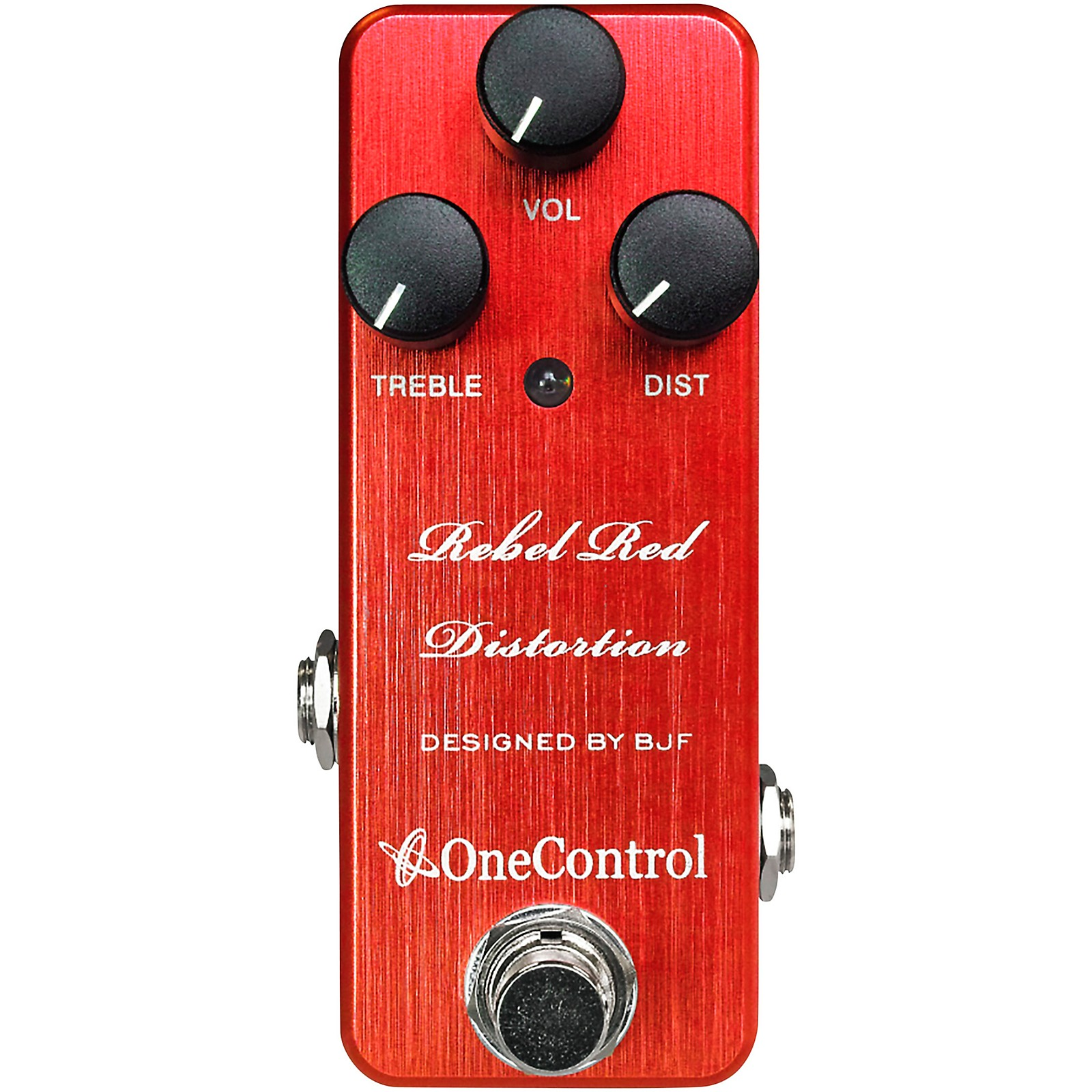 One Control Rebel Red Overdrive Effects Pedal