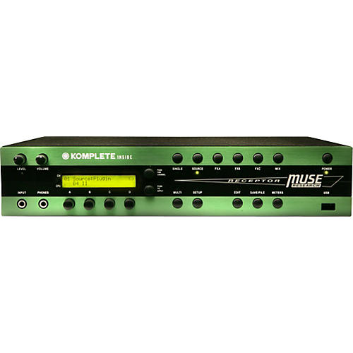 Muse Research Receptor RK Hardware Plug-in Player with Komplete 5, 400 GB Hard Drive