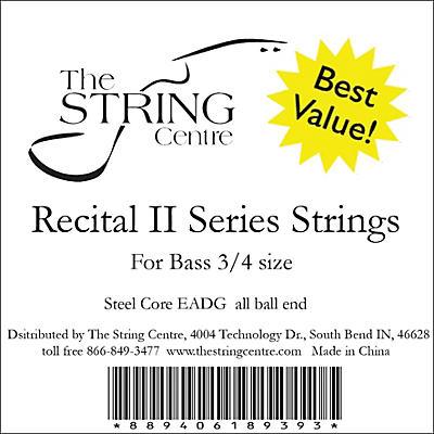 The String Centre Recital II Bass String Set