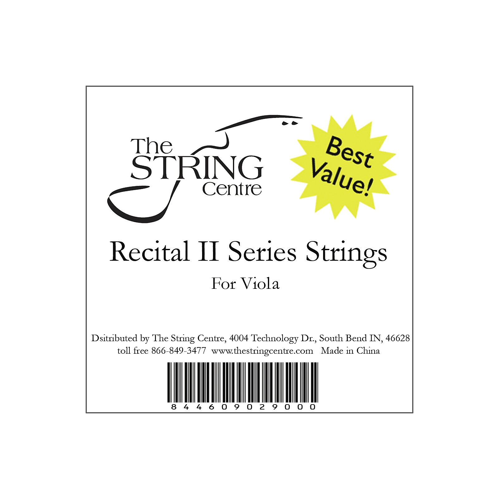 The String Centre Recital II Viola String Set