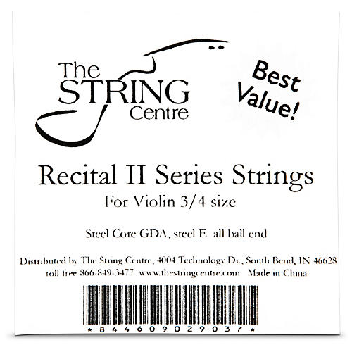 The String Centre Recital II Violin String set