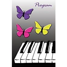 SCHAUM Recital Program #76 - Butterfly Keyboard (Package of 25) Educational Piano Series Softcover