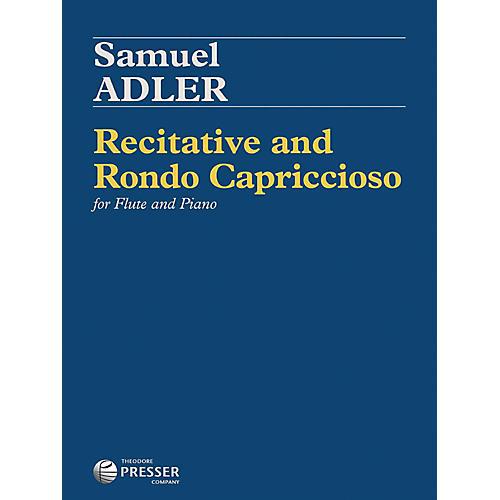Carl Fischer Recitative and Rondo Capriccioso - Flute with Piano