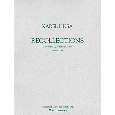 Associated Recollections (Score and Parts) Woodwind Ensemble Series Softcover Composed by Karel Husa