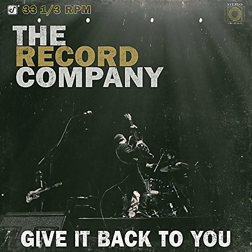 Alliance Record Company - Give It Back to You