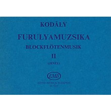 Editio Musica Budapest Recorder Music - Volume 2 (For 2, 3 and 4 Recorders) EMB Series by Zoltán Kodály
