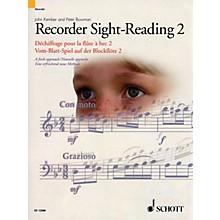 Schott Recorder Sight-Reading 2 Misc Series Written by John Kember