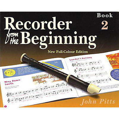 Music Sales Recorder from the Beginning - Book 2 (Full Color Edition) Music Sales America Series by John Pitts