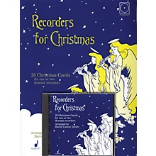 Schott Recorders for Christmas (20 Christmas Carols for One or Two Recorders) Schott Series Softcover with CD