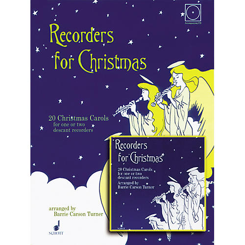 Alfred Recorders for Christmas with CD