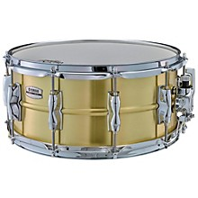 Recording Custom Brass Snare Drum 14 x 6.5 in.