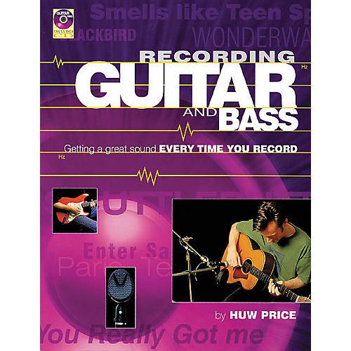 Backbeat Books Recording Guitar and Bass (Book/CD)