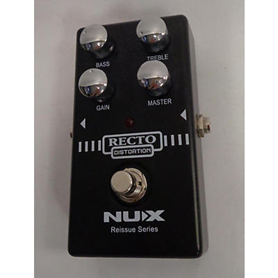 NUX Recto Distortion Effect Pedal