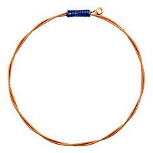 Recycled Guitar String Bracelet Youth Royal Blue