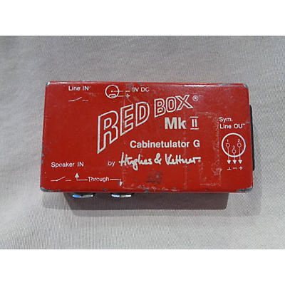 Hughes & Kettner Red Box MKII Direct Box