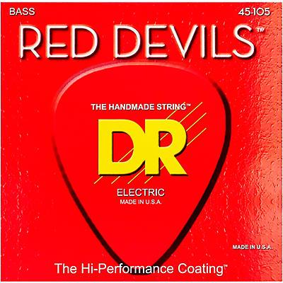 DR Strings Red Devils Medium 4-String Bass Strings