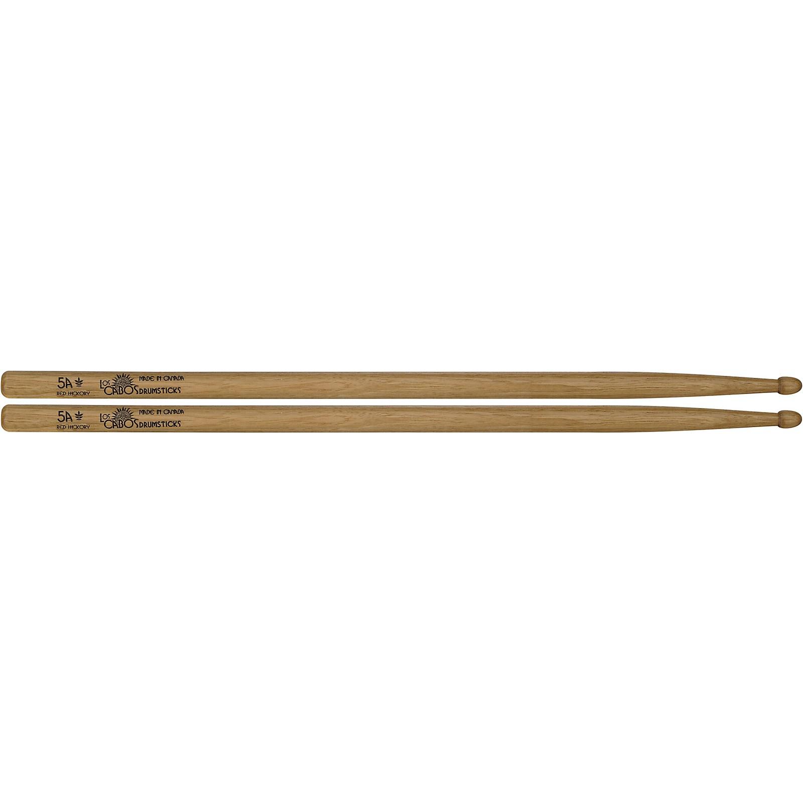 Los Cabos Drumsticks Red Hickory Center Cut Drum Sticks