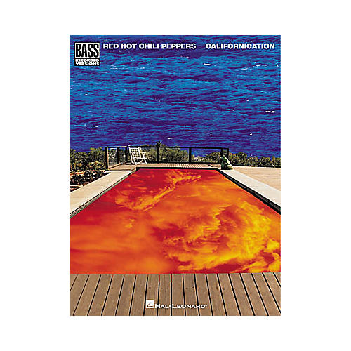 Hal Leonard Red Hot Chili Peppers - Californication Book
