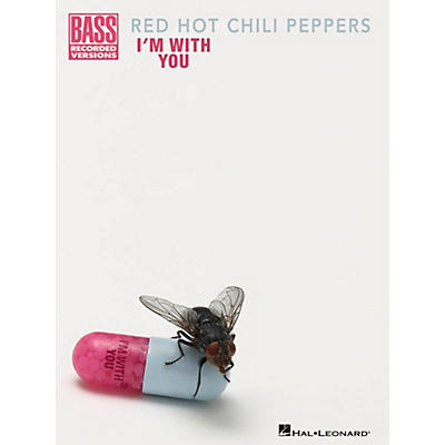Hal Leonard Red Hot Chili Peppers - I'm With You Bass Guitar Tab Songbook