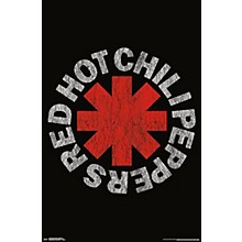 Trends International Red Hot Chili Peppers Vintage Logo Poster