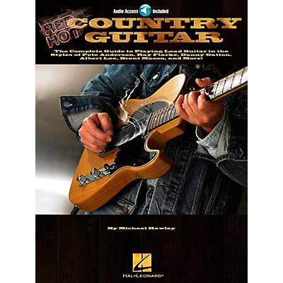 Hal Leonard Red Hot Country Guitar (Book and CD Package)