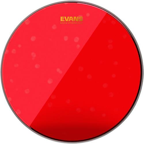 Evans Red Hydraulic Bass Drum Head 20 in.