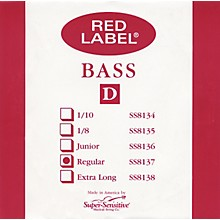 Red Label 3/4 Size Double Bass Strings 3/4 D String