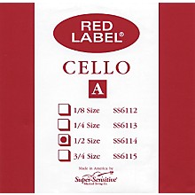Red Label Cello A String 1/2