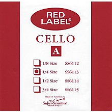 Red Label Cello A String 1/4
