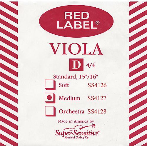 Super Sensitive Red Label Full Viola D String