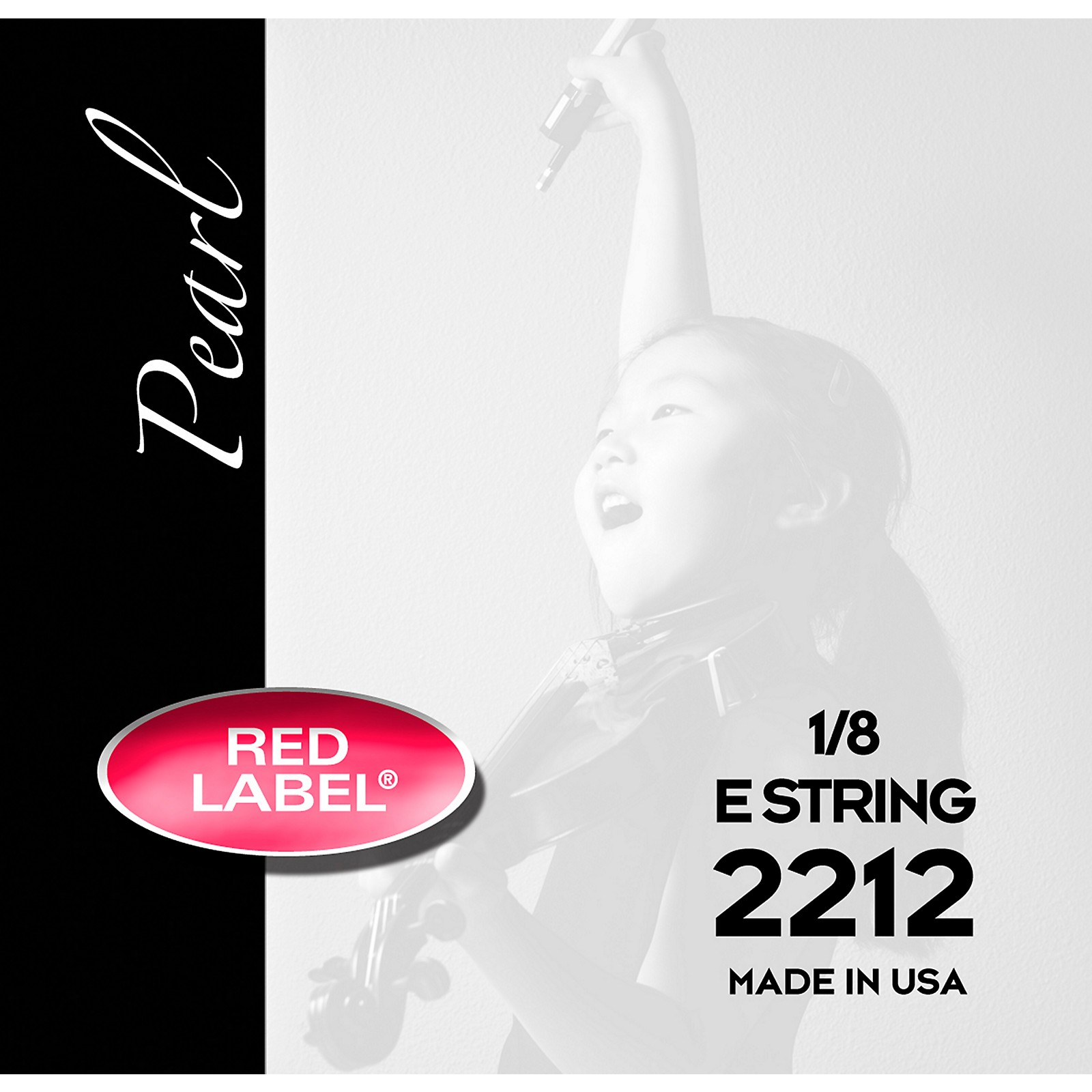 Super Sensitive Red Label Pearl Nylon Core Violin E String