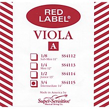 Red Label Viola A String Intermediate