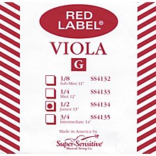 Red Label Viola G String Sub-Mini (11-in.)