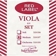 Red Label Viola String Set Full