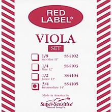 Red Label Viola String Set Intermediate