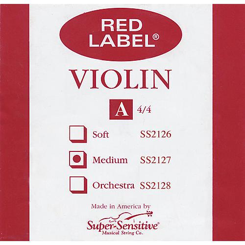 Super Sensitive Red Label Violin A String