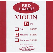 Red Label Violin D String 4/4