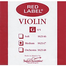 Red Label Violin G String 4/4