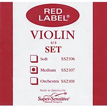 Super Sensitive Red Label Violin String Set