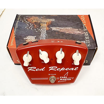 Carl Martin Red Repeat Delay Version II Effect Pedal