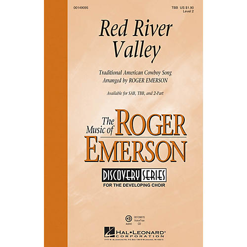 Hal Leonard Red River Valley (Discovery Level 2) TBB arranged by Roger Emerson