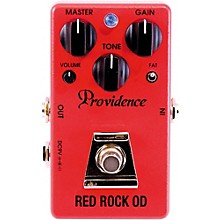 Open Box Providence Red Rock OD / Overdrive Effects Pedal